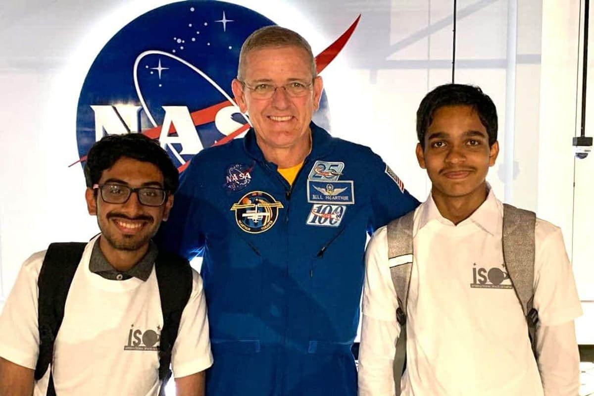 International-Space-Olympiad-Winners-Vist-NASA EDU MITHRA